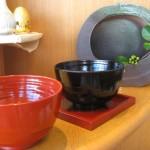 漆の蕎麦椀