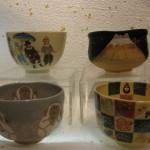 お祝いの抹茶茶碗
