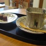 小林利山の珈琲碗皿