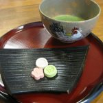 干支(酉)の抹茶茶盌と香合