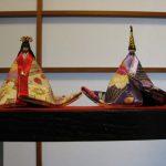 源氏雛(匂い袋)とお雛茶盌