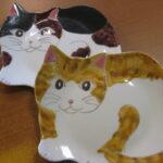 九谷焼の猫絵のお皿たち